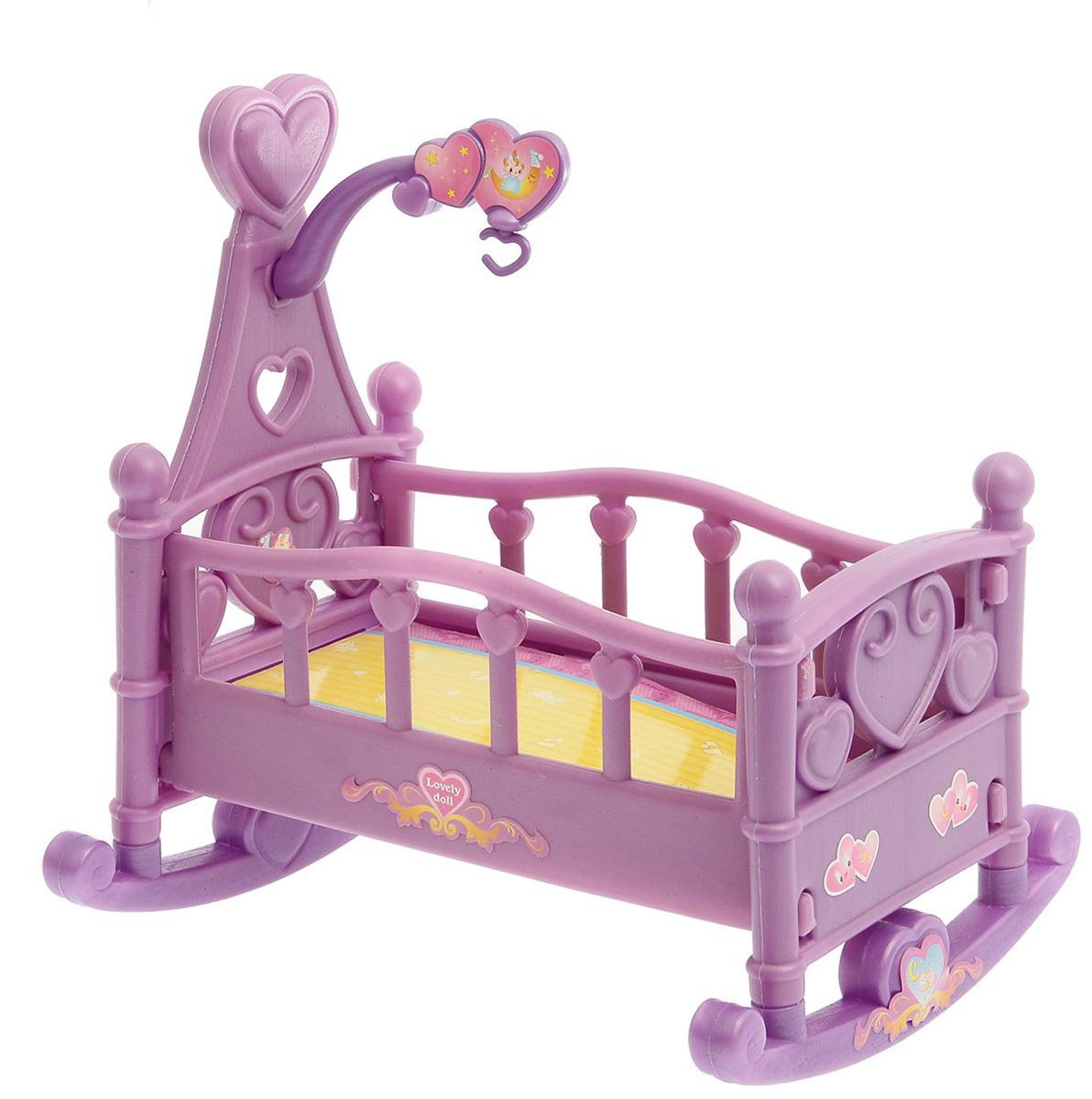 Кроватка-качалка для куклы, 2638696