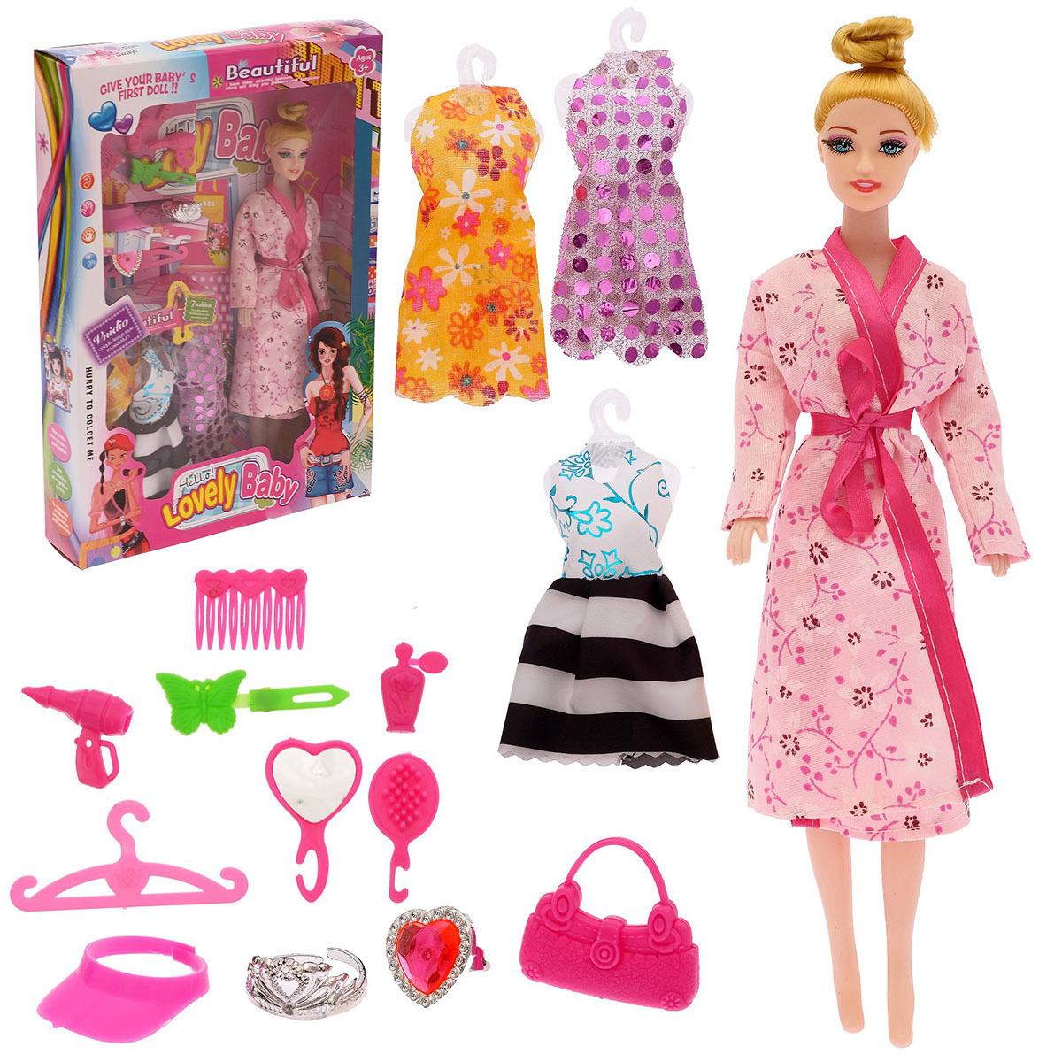 """Кукла модель """"Вика"""", 2691453, с аксессуарми, 27 см"""
