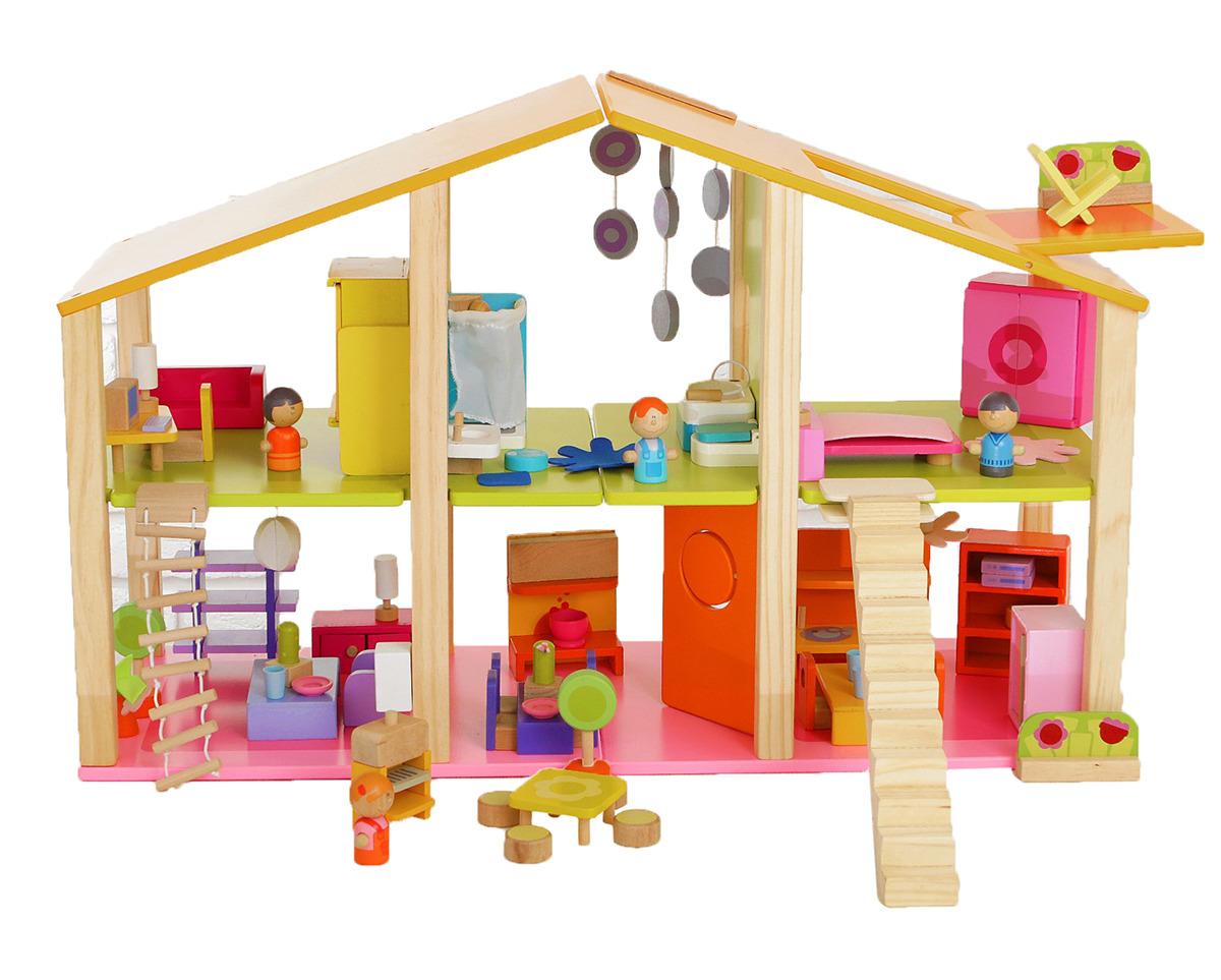 Дом для кукол, 2926678, с мебелью