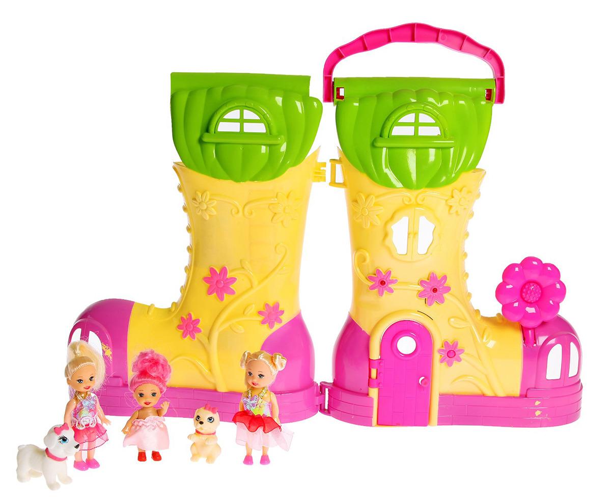 """Дом для кукол """"Мечта"""", 2926719, с куклой и аксессуарами"""