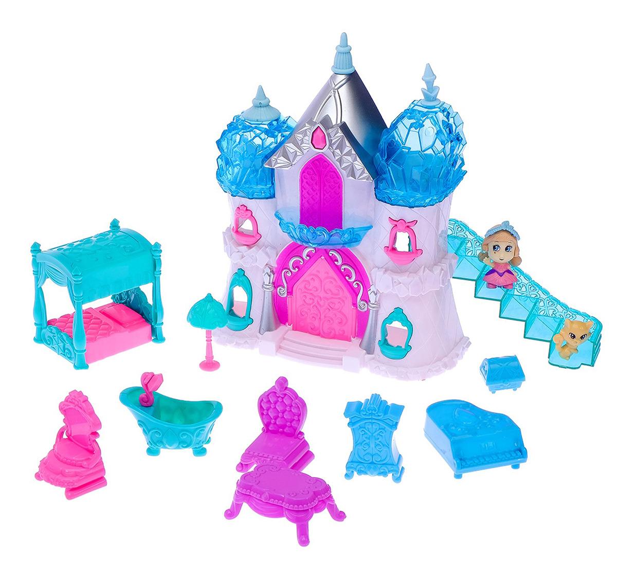 """Замок для кукол """"Снежное королевство"""", 2926883, с аксессуарами"""