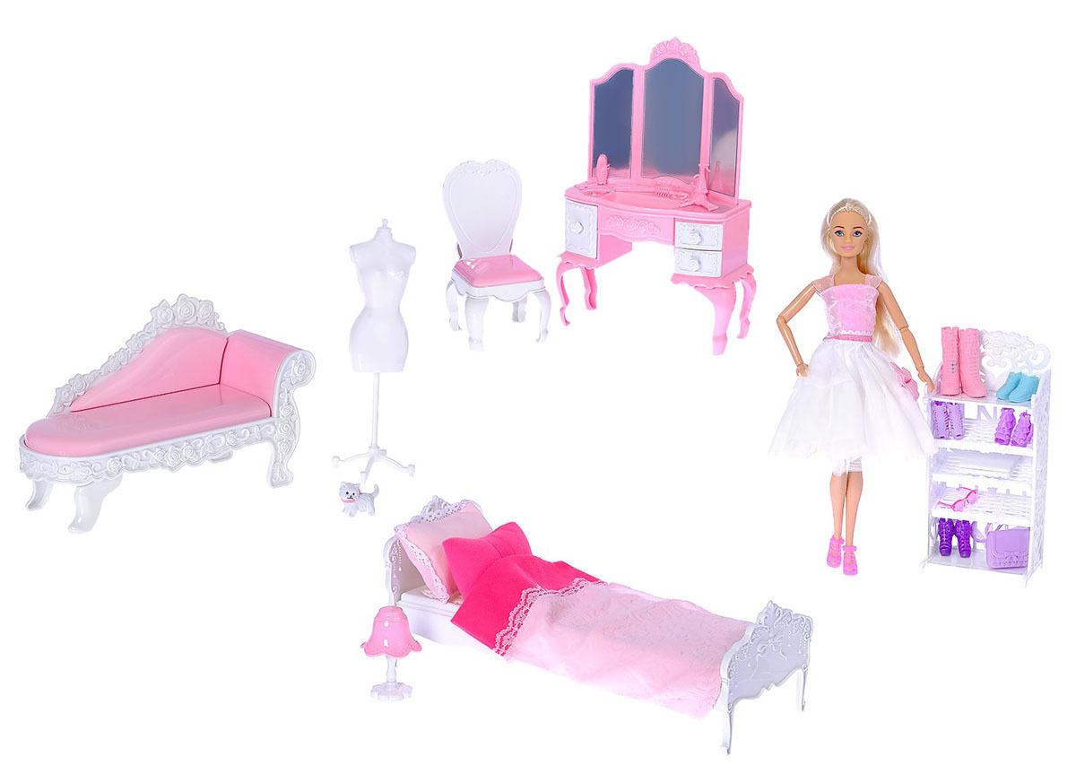 """Кукла модель шарнирная """"Анлилу"""", 2958408, с мебелью, с аксессуарами"""