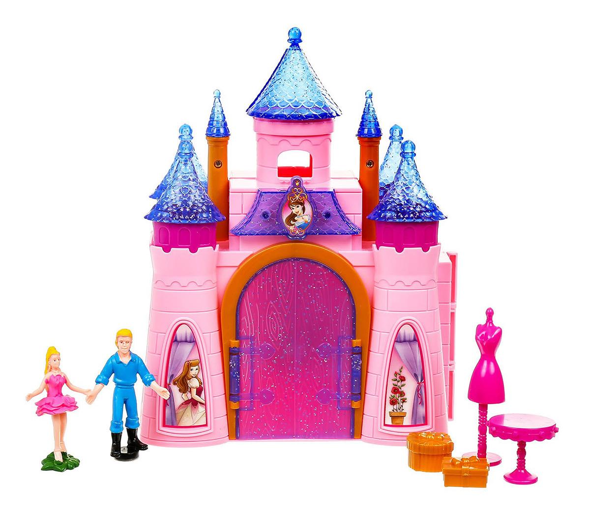 Замок для кукол, 3218041, складной