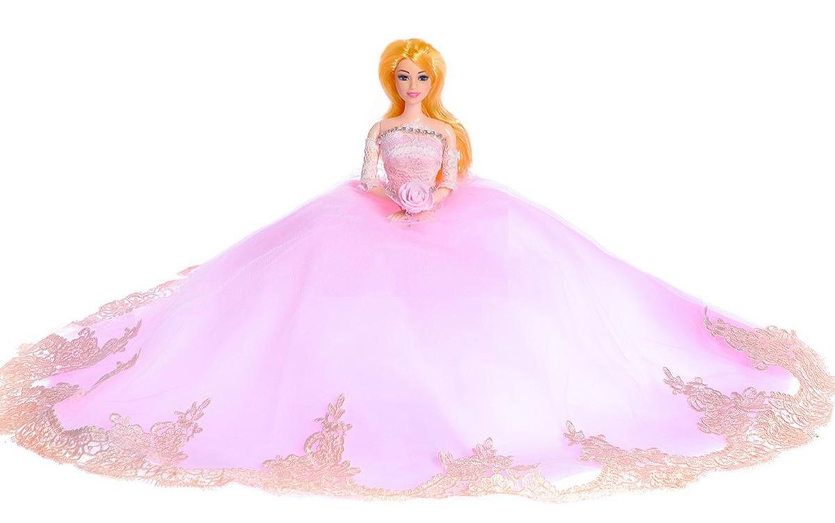 """Кукла модель """"Лилиана"""", 3303137, в свадебном платье, 30 см"""