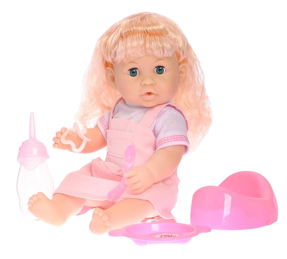 Пупс Марина, 33032633303263Удивительно реалистичная и красивая игрушка очень обрадует малыша. С такой симпатичной крохой можно весело проводить время целый день!