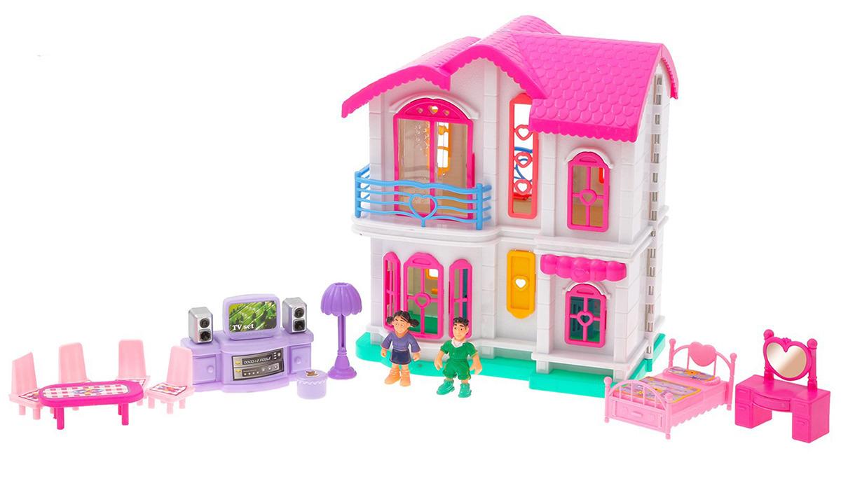 Коттедж для кукол, 3305256, с мебелью и аксессуарами