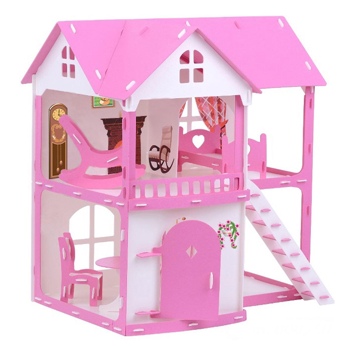"""Дом для кукол Krasatoys """"Коттедж Светлана"""", 3494258, с мебелью"""