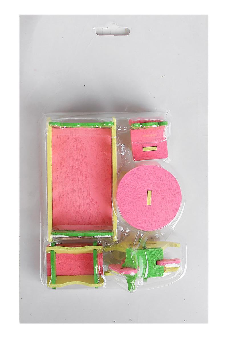 Мебель для кукол Спальня с детской, 35899503589950Наборы кукольной мебели порадуют девчонок, ведь теперь они сделают домик своей игрушечной подружки уютнее и светлее. Можно устроить прием гостей и сыграть им на рояле или усадить куколок за стол и организовать сказочное чаепитие. Когда малышка проводит своих гостей, она уложит главную героиню в кроватку и пожелает ей сладких снов. Пусть у каждой куклы будет свой дом с мебелью!
