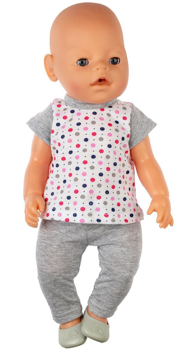 """Одежда для кукол КуклаПупс """"Туника и лосины"""", 3796639"""