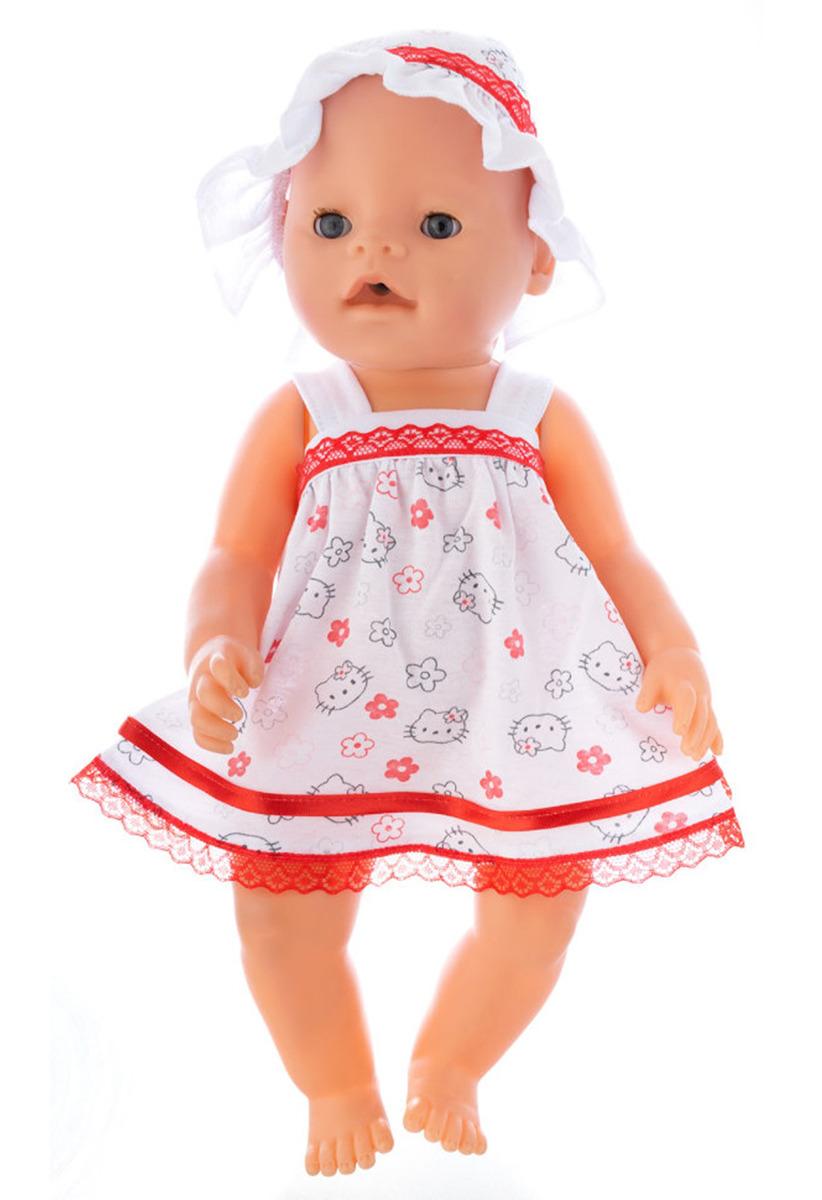 "Одежда для кукол КуклаПупс ""Сарафан и панамка"", 3796641"