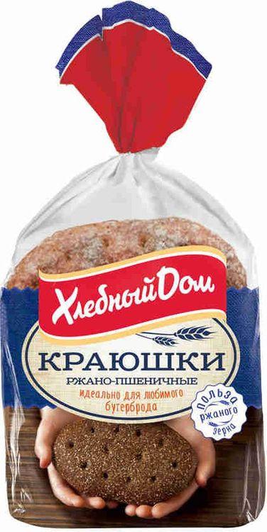 Лепешка Хлебный Дом Краюшки ржано-пшеничные, 240 г