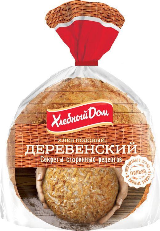 Хлеб Хлебный Дом Деревенский нарезка, 300 г