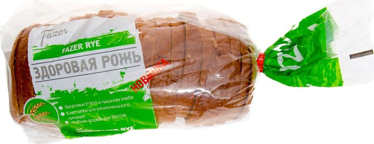 Хлеб Fazer Тостовый Rye, 500 г