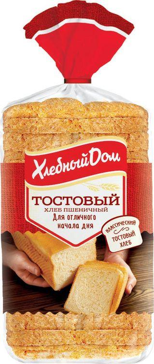 Хлеб Хлебный Дом Тостовый белый, 500 г