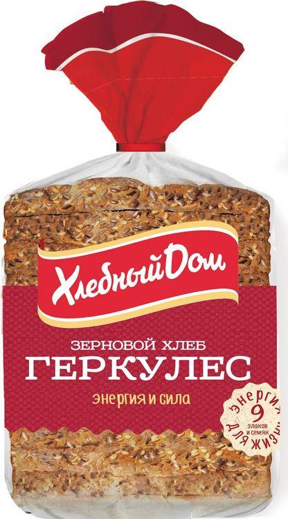 Хлеб Хлебный Дом Геркулес зерновой, 250 г пассим геркулес 12 месяцев 750 г