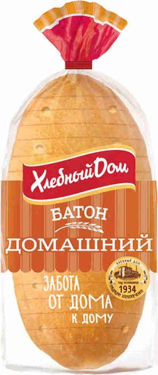 Хлеб Хлебный Дом Батон Домашний, 230 г