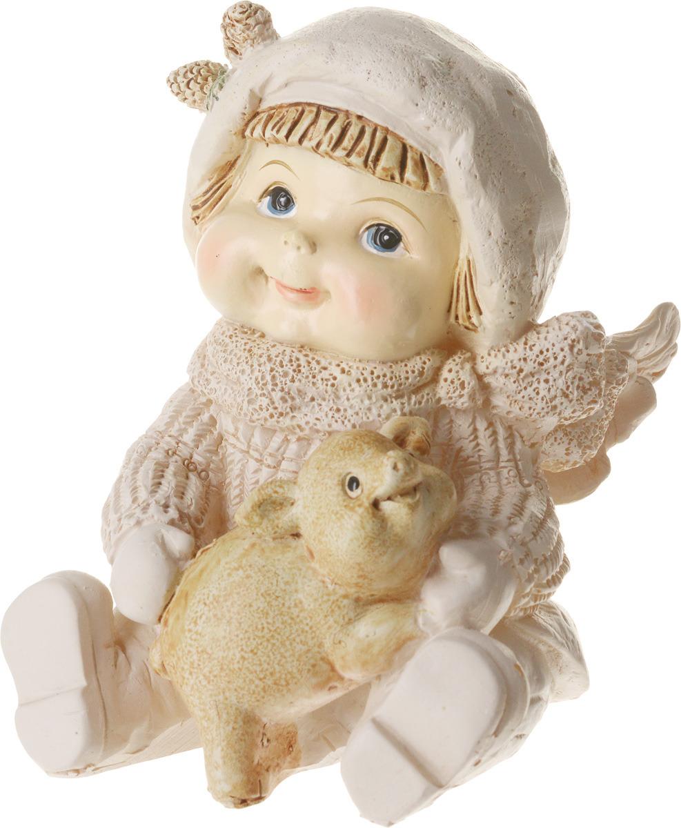 Фигурка праздничная Русские Подарки Зимние забавы, 7 х 9 х 10 см уголок для воздушной трубки barbus диаметр 4 мм 2 шт