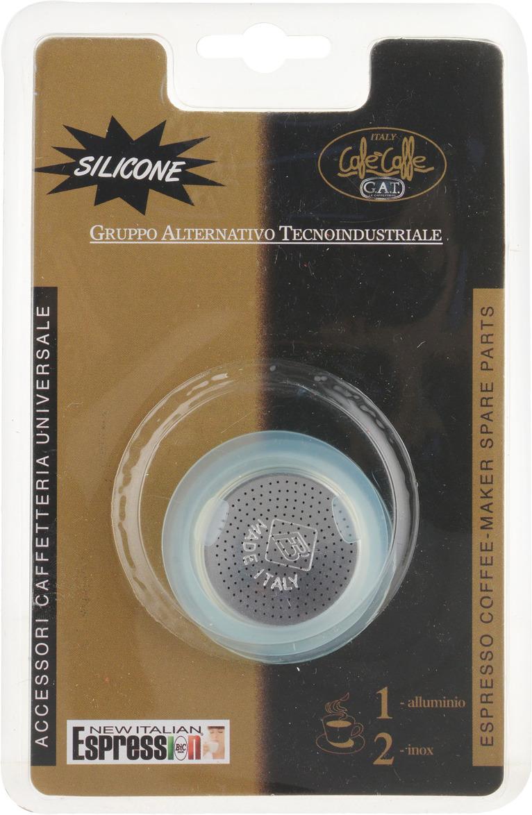 Фото - Гейзерная кофеварка Фильтр для гейзерной кофеварки Blister Spare Parts с прокладками, Алюминий кофеварки и кофемолки