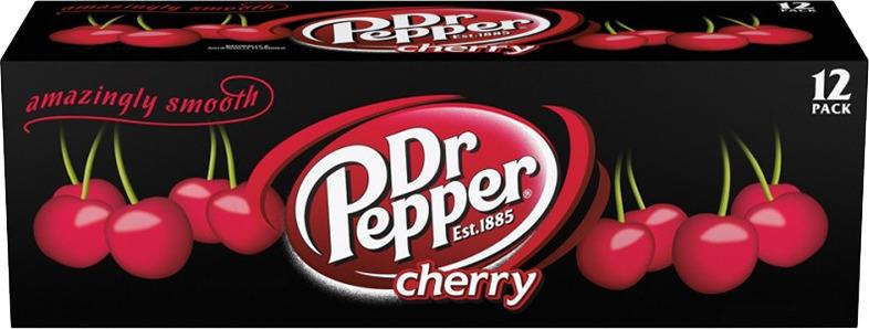 "Газированный напиток Dr.Pepper ""Вишня"", 12 шт по 355 мл"