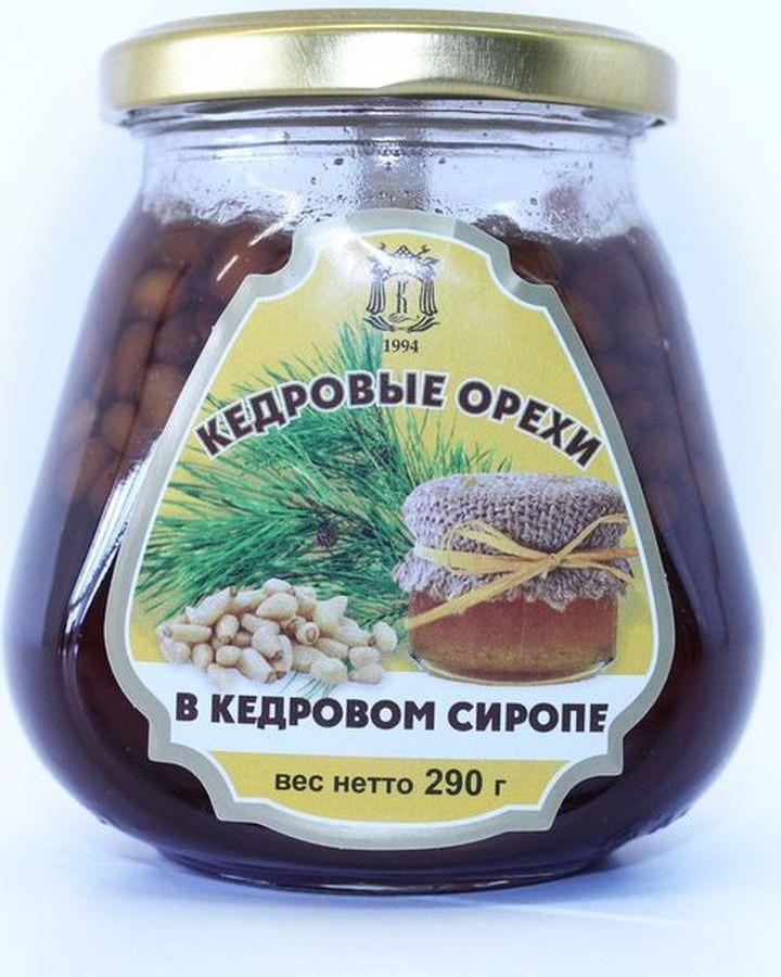 Варенье Косьминский гостинец, из кедровых орехов в кедровом сиропе, 290 г