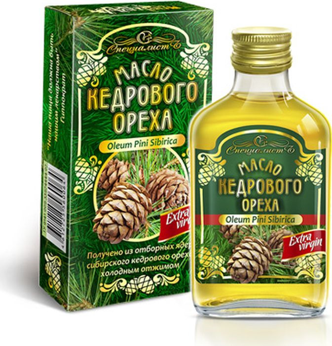 Кедровое масло Алтай, 100 мл