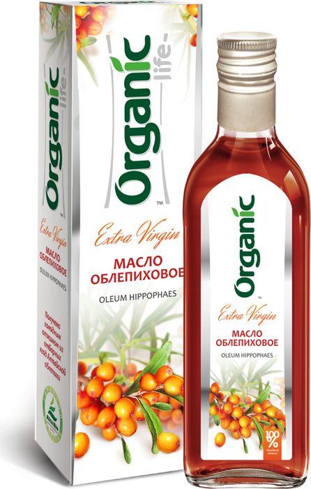 Фото - Облепиховое масло Organic Life, 500 мл облепиховое масло 50 мл бад