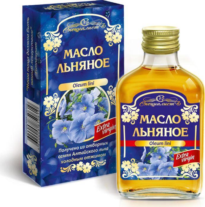 Льняное масло Алтай, 100 мл
