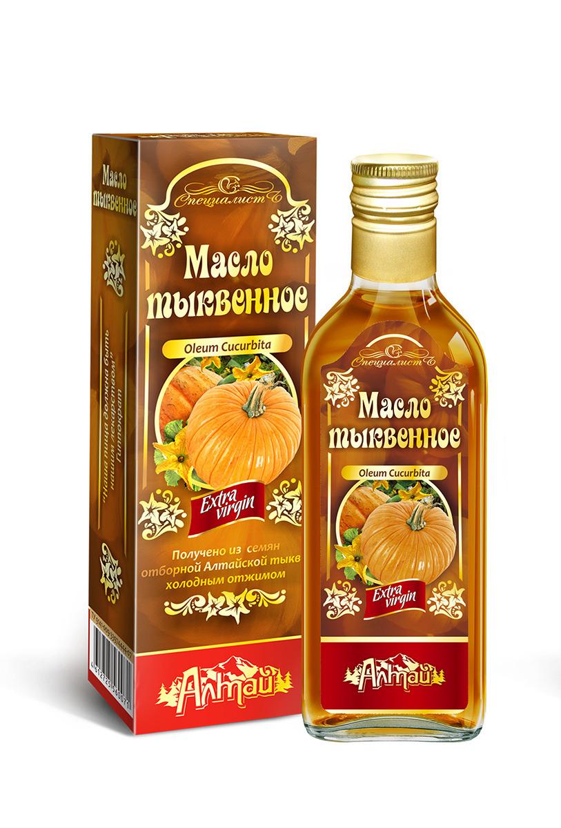 Тыквенное масло Алтай, 250 мл