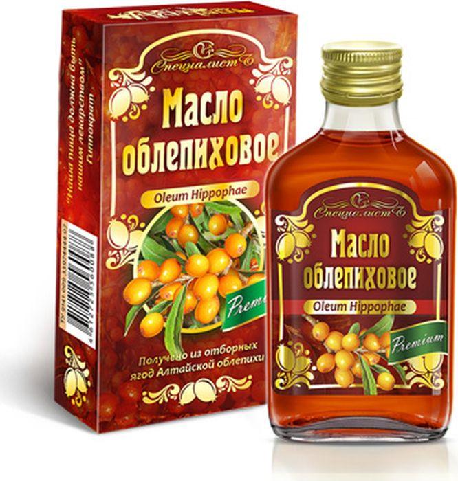Облепиховое масло Алтай, 100 млСПЦМАЛТ_214Концентрат масла облепихового, масло подсолнечное нерафинированное, разлито в стеклянный флакон и упакован в картонный пенал.