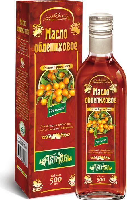 Фото - Облепиховое масло Алтай, 500 мл облепиховое масло 50 мл бад