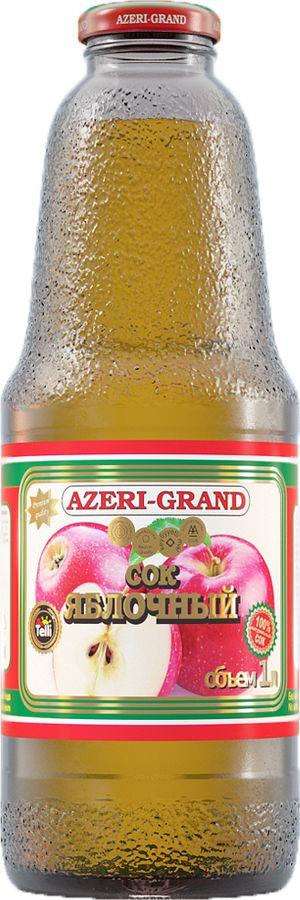 Сок Azeri-Grand яблочный, 1 л