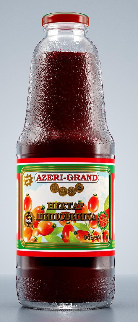 Нектар Azeri-Grand шиповника, 1 л нектар telli из шиповника и черноплодной рябины 1 л