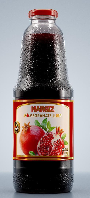 Сок Nargiz гранатовый, 1 л все цены
