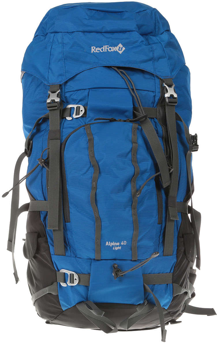 Рюкзак туристический Red Fox Alpine 40 Light, цвет: синий, 40 л