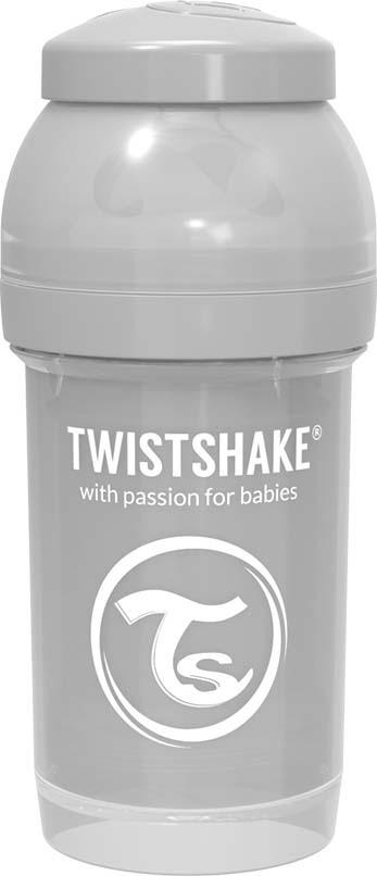 Бутылочка для кормления Twistshake Pastel антиколиковая, 78254, серый, 180 мл все цены
