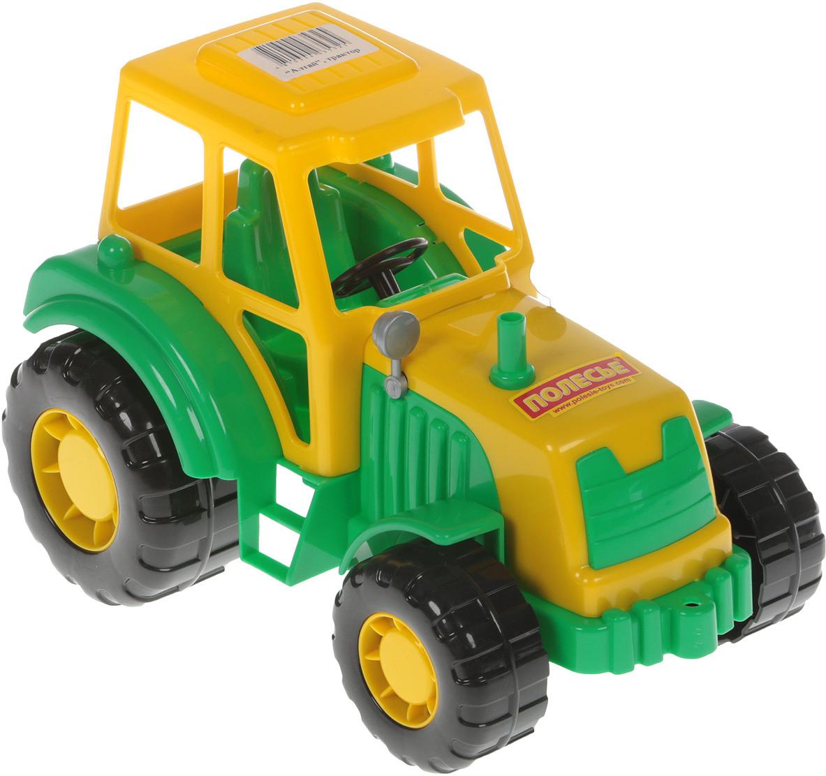 игрушки в песочницу Полесье Трактор Алтай, цвет в ассортименте