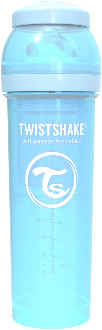Бутылочка для кормления Twistshake Pastel антиколиковая, 78262, синий, 330 мл все цены