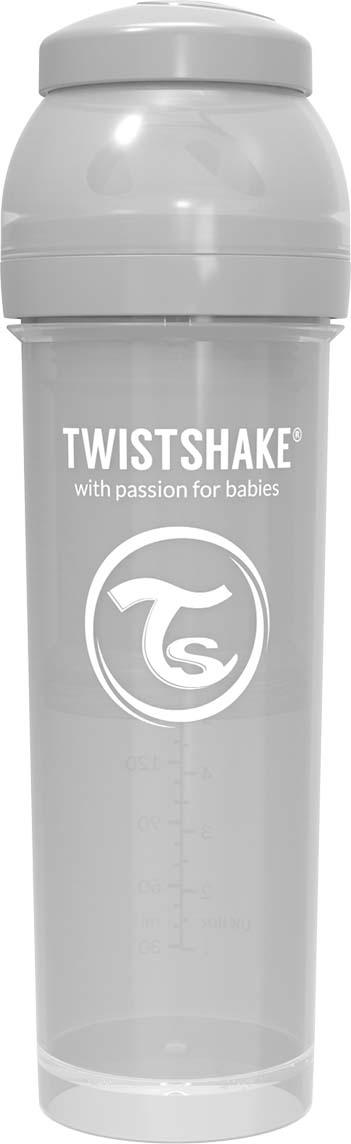 Бутылочка для кормления Twistshake Pastel антиколиковая, 78266, серый, 330 мл все цены