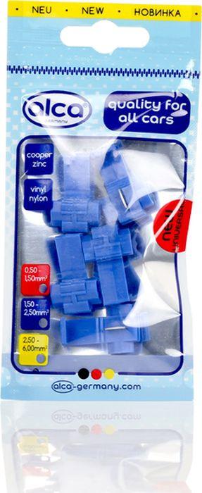 Клеммы соединительные Alca, 641920, для проводов, 0.75-2.5 мм, синий, 5 шт лента изоляционная alca 5 м 6 шт