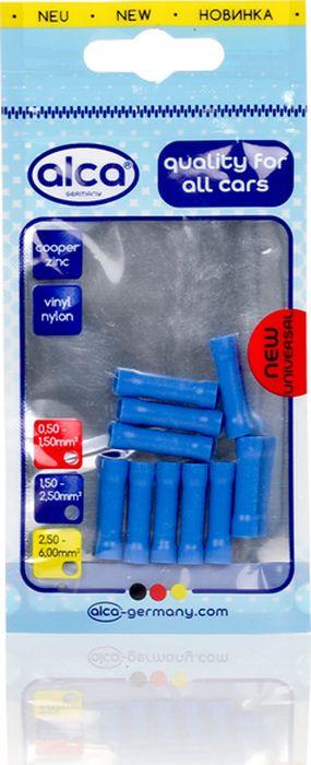 Гильзы с изоляцией Alca, 641720, 2.3 мм, синий, 10 шт лента изоляционная alca 5 м 6 шт
