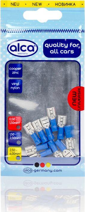 Наконечник плоский Alca, 640770, гнездовой, 7.44 мм, синий, 10 шт цена и фото