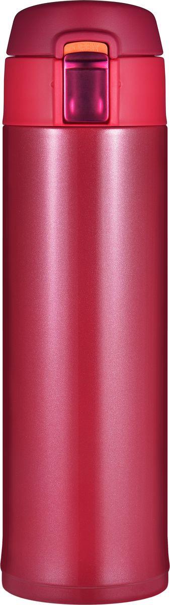 Термокружка Woodsurf Quick Open, QOTC2480-05, красный, 480 мл термокружка woodsurf quick open 2 0 350ml burgundy metallic qotc2350 01