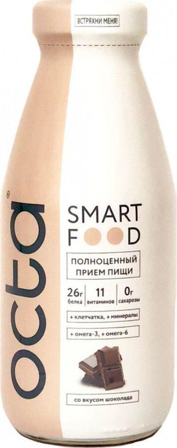 цены Энергетический напиток Octa молочный витаминизированный со вкусом шоколада, 0,33 л