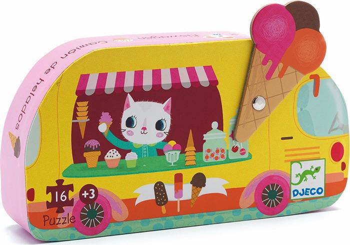 Пазл Djeco Мороженое, 07264 пазл djeco мороженое 07264
