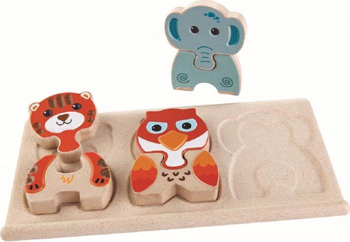 Пазл Plan Toys Животные, 5611 пазл best toys животные 6 элементов