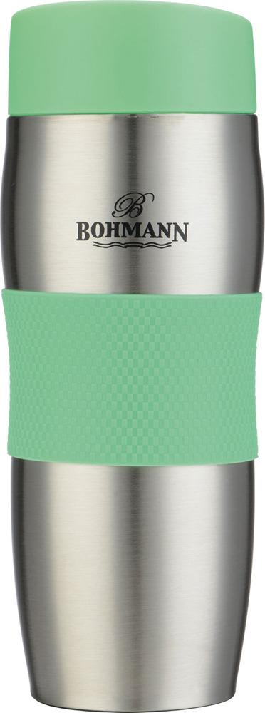 Термокружка Bohmann, 4456ВН, зеленый, 375 мл
