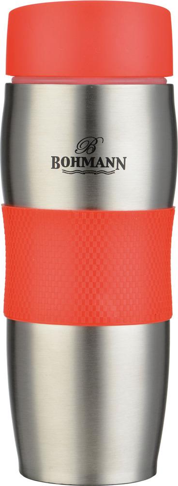 Термокружка Bohmann, 4456ВН, красный, 375 мл