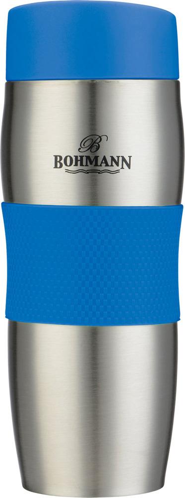 Термокружка Bohmann, 4456ВН, синий, 375 мл
