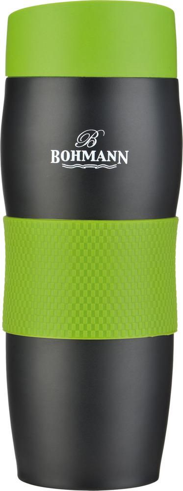 Термокружка Bohmann, 4457BH, зеленый, 375 мл