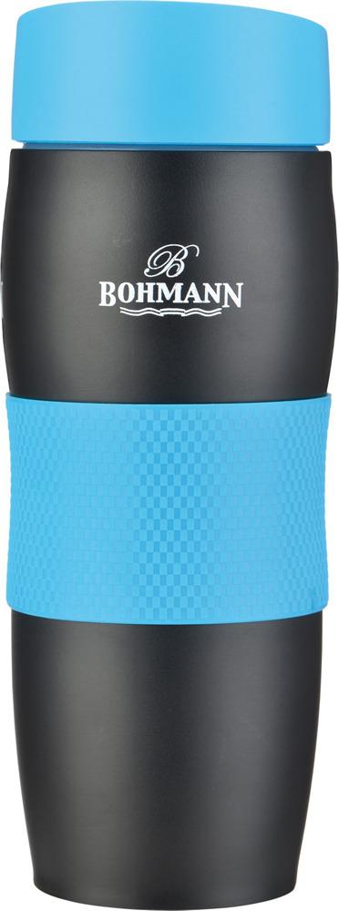 Термокружка Bohmann, 4457BH, синий, 375 мл